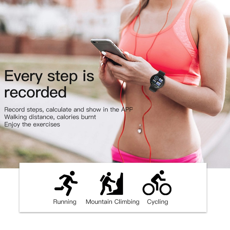 B28 Smart Wristband Waterproof Pedometer Activity Tracker Watch With Remote Pressure Measurement Photography Bracelet