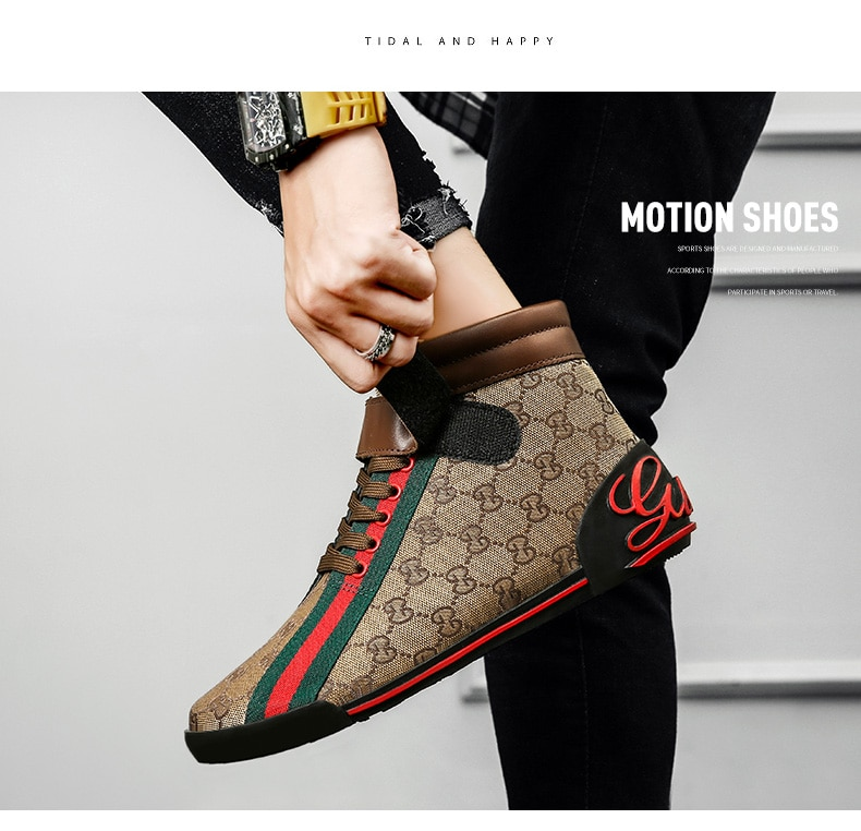 Men's Canvas Letter Embroidery Flat Bottom Fashion Trend with Sports Lace Up Multicolor Classic Casu