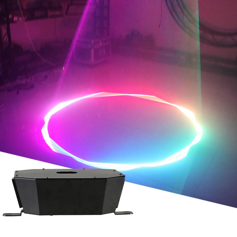 1.5W Full Color Patterns Upside Down Laser DMX512 RGB DJ Disco Party Patterns Laser Projector For Wedding Bar Club Effect Light