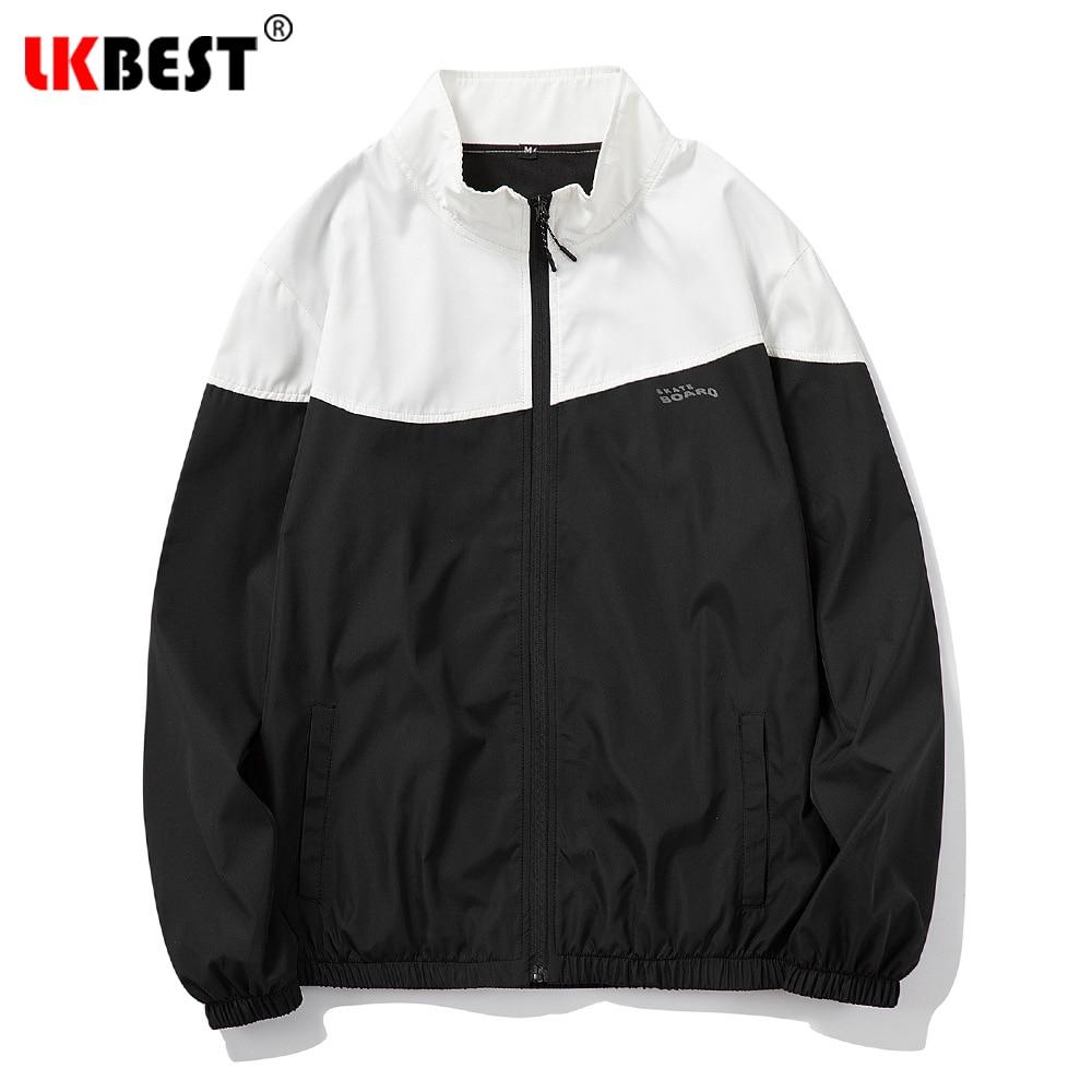 Демисезонная Мужская модная повседневная спортивная куртка, Мужская ветрозащитная быстросохнущая Свободная куртка