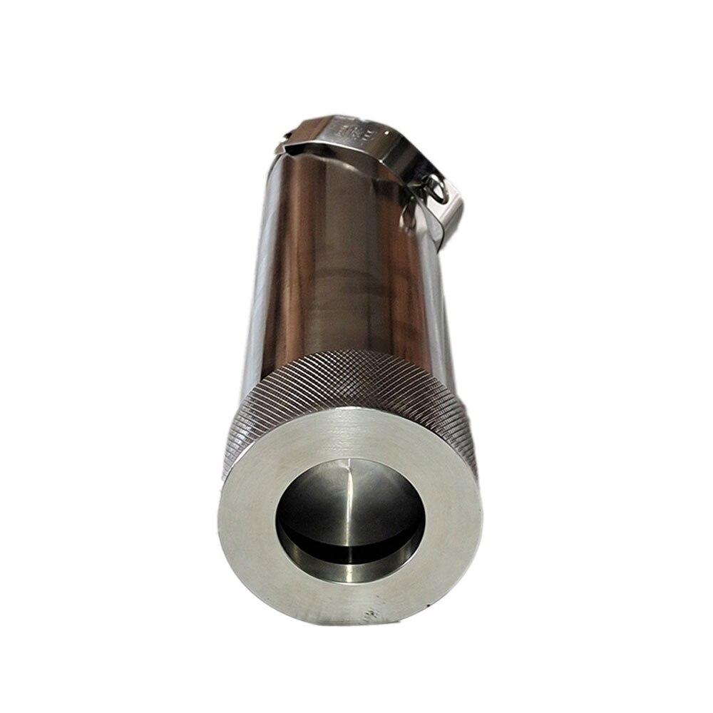 304 stainless steel grease sampler, petroleum edible vegetable oil liquid bottom sampler 750g sampling barrel enlarge