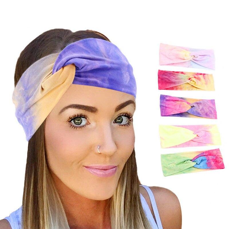 Acessórios para o cabelo do turban do suporte das meninas