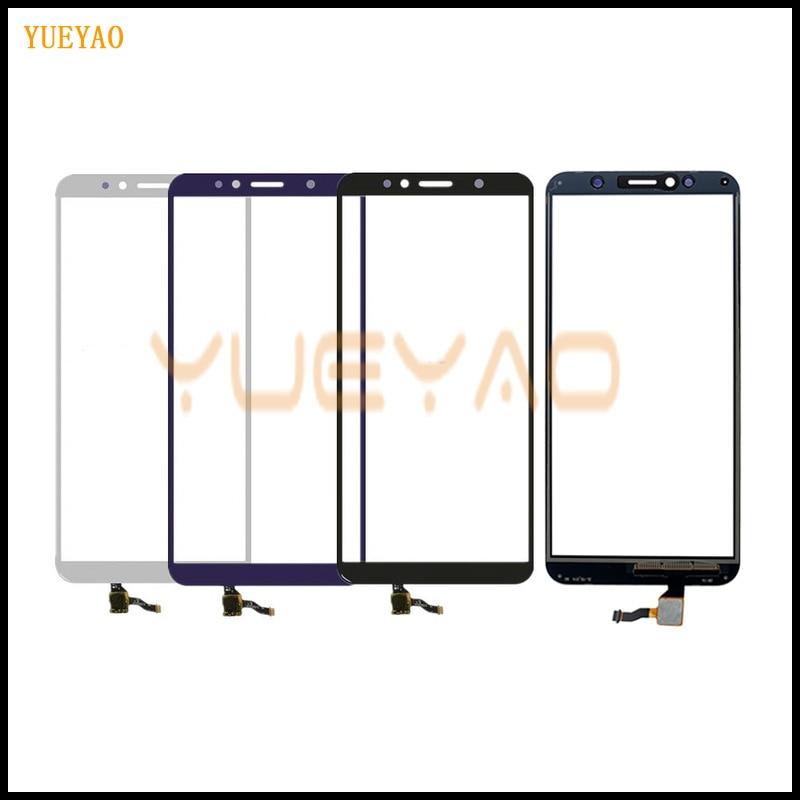 Y6 2018 сенсорный экран для Huawei Y6 Prime 2018 сенсорный экран дигитайзер Датчик внешняя стеклянная линза Панель 5,7 ''Замена