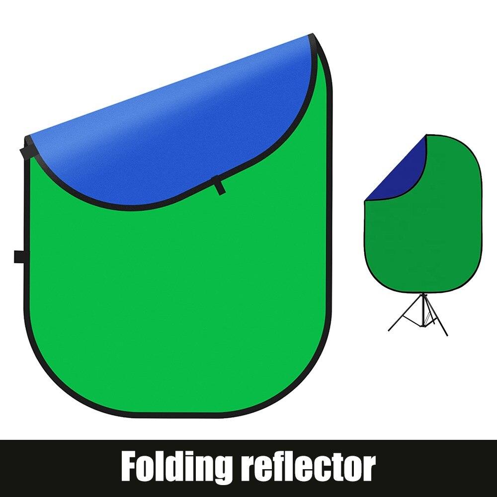 Pano de Fundo Painel para Foto Chromakey Verde Azul Dobrável Reversível Backdrops Estúdio Vídeo