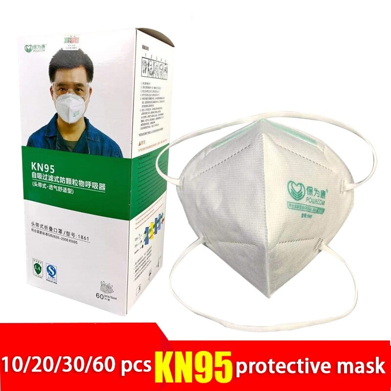 new n95 dust mask activated carbon double breathing valve protective masks dust mask masks second hand smoke 10-60Pcs KN95 Filter Face Mask Activated Carbon Dust-Proof Mouth Masks Anti-PM2.5 Protective Respirator Non-Reusable Dust Masks