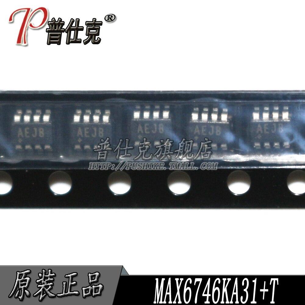 شحن مجاني | MAX6746KA31 T MAX6746KA31 SOT23-8 AEJB 10 قطعة