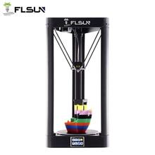 2019 Update Hoge Snelheid Flsun QQ-S Grote 3D Printer Metalen Frame Auto-Leveling Printer 3d Touch Screen Rooster Glas bed Wifi