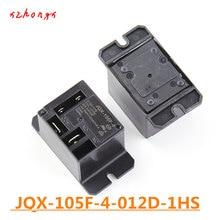 Relais JQX-105F-4-012D-1HS HF105F-4 JQX-105F-4 012D-1HS JQX-105F HF105F-4-012D-1HS 12 V DC12V 12VDC 30A 240VAC