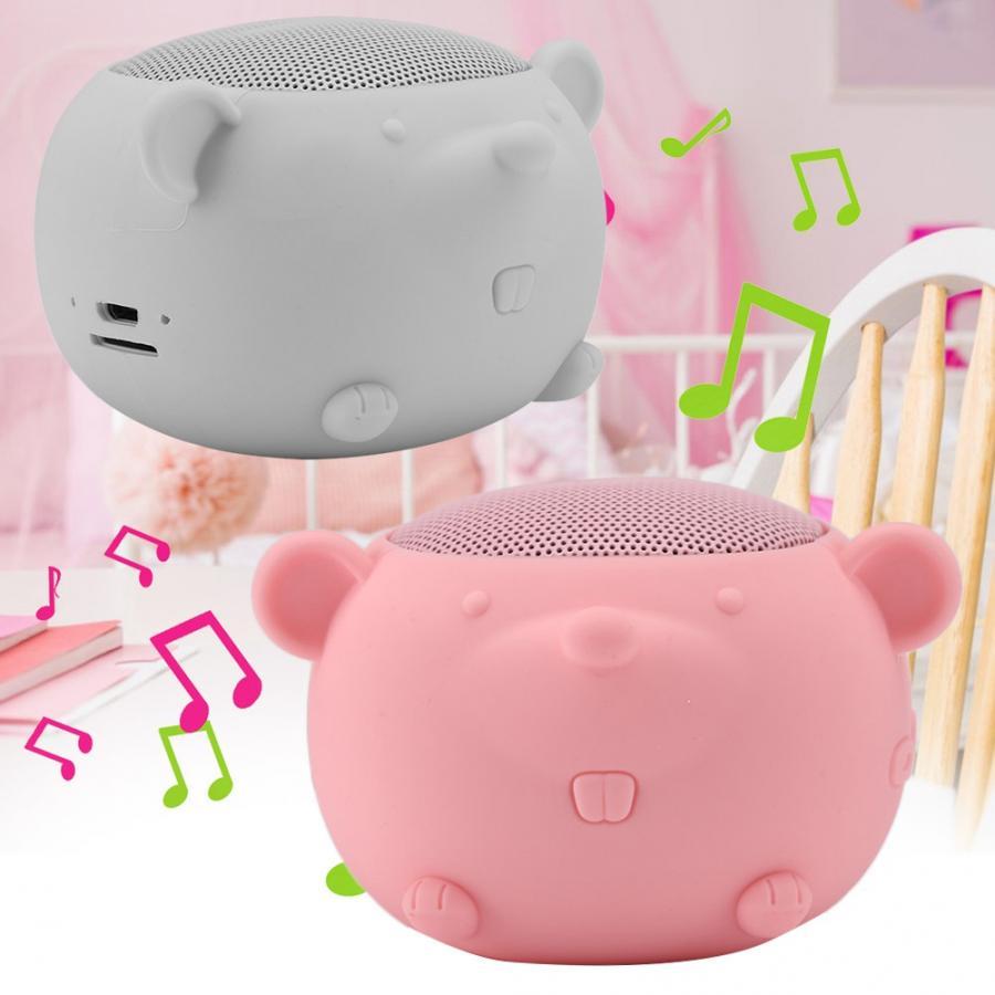 Altavoz bluetooth Nette Maus Form Mini Drahtlose Bluetooth 5,0 Lautsprecher 400mAh für Home/Reisen/Ausgehenden tragbare lautsprecher