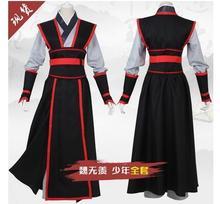 Jeune grand-maître de la culture démoniaque Costume hommes Anime Wei Wuxian