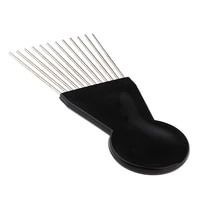 salon professional afro hair pick comb anti static unbreakable heat resisting for hair styling