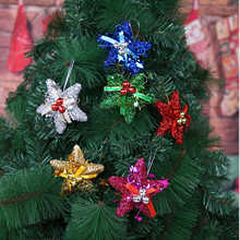 Home Christmas Tree Decoration Stars Hanging Christmas Baubles Party Decoration christmas decoration New Year Ornament
