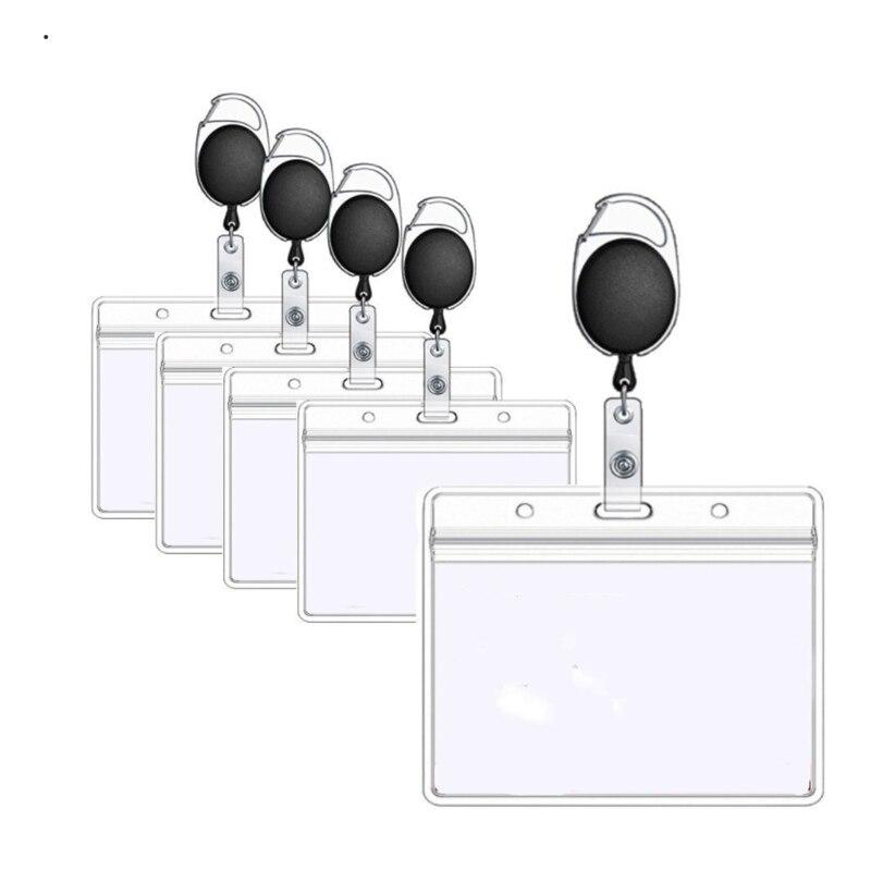 1 шт. выдвижной брелок держатель для карт аксессуары для медсестер держатель значков набор ремешка ID держатель для карт деловой держатель для карт