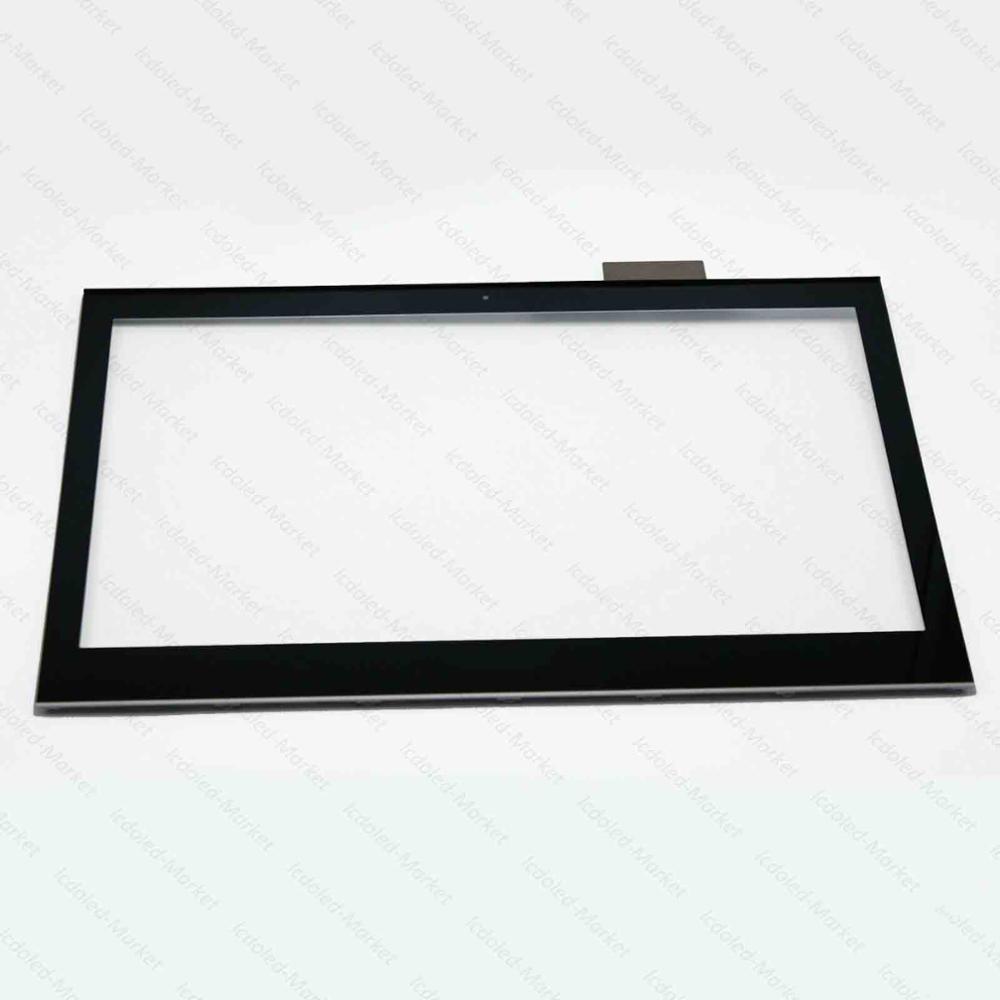 jianglun digitador de vidro da tela toque moldura quadro para sony vaio svt141a11l svt141c11l