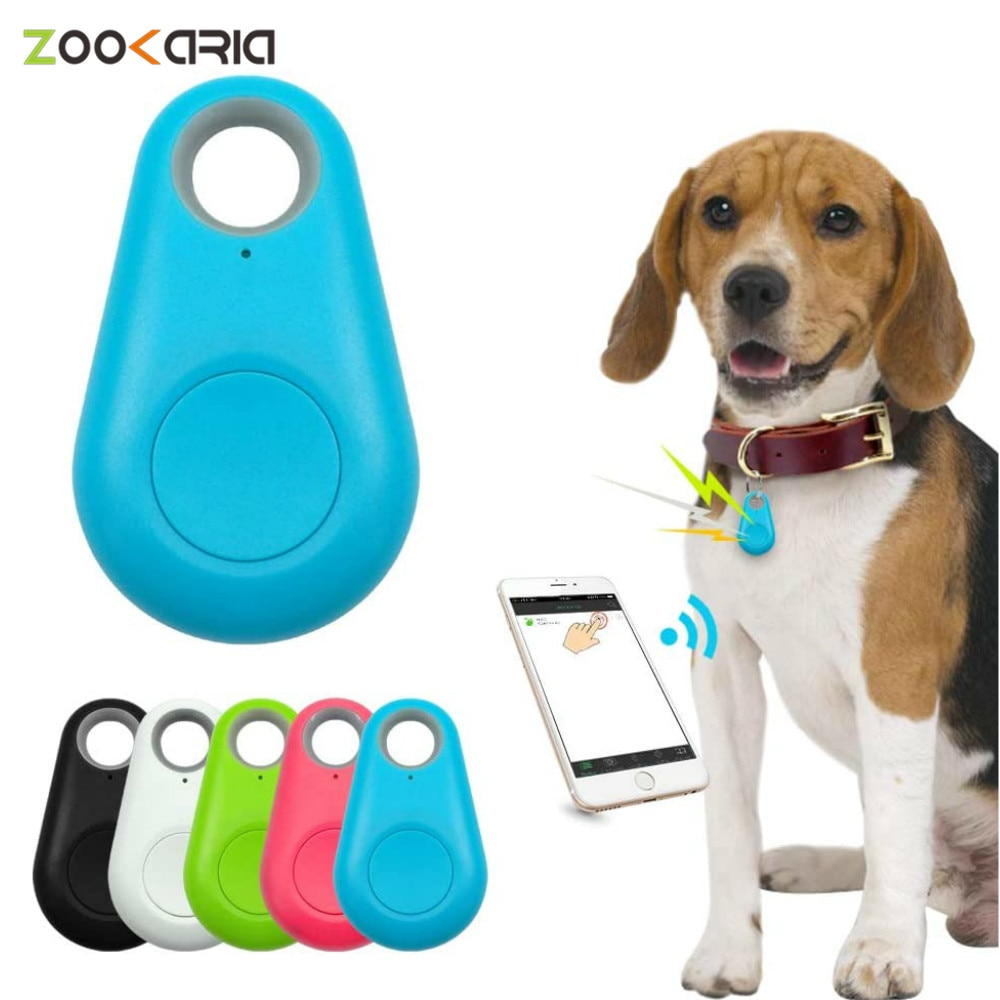 Pets Smart Mini GPS Tracker Anti-Lost Waterproof with Bluetooth for Pet Dog Cat Keys Wallet Bag Kids Trackers Finder Equipment