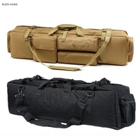 heavy duty hunting bags m249 tactical rifle backpack outdoor airsoft paintball sport rifle bag 600d oxford gun case