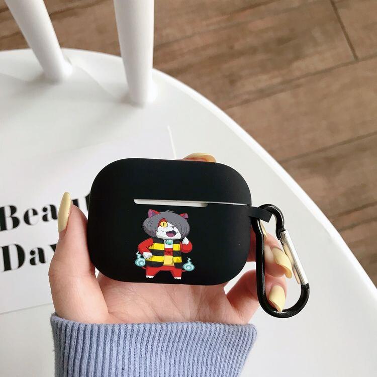 Чехол для наушников Airpods Pro с аниме Gegege No Kitaro, чехол для беспроводного Bluetooth Apple Airpods Pro, чехол, силиконовый чехол чехол