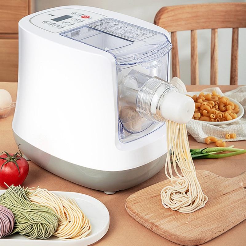 Máquina de fideos para el hogar, máquina automática de fideos pequeños y inteligentes, máquina de fideos multifunción, procesador de batidora de masa de espagueti
