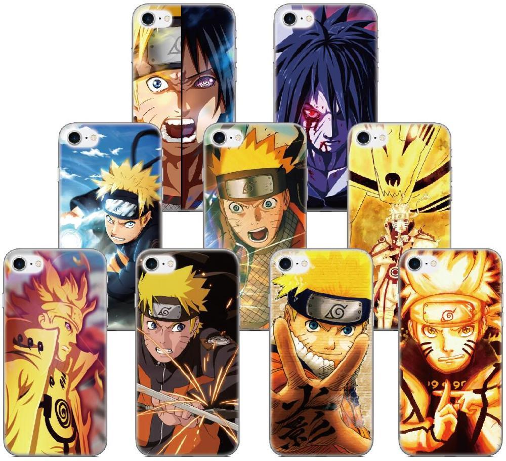 Goma, TPU suave Naruto Shippuden anime-dibujos teléfono caso para Umidigi F2 A3 A5 S3 A3S A3X A7 S5 Pro F1 Play 3 X Max cubierta de silicona