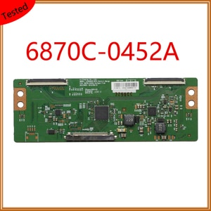 6870C-0452A T CON Board Placa TV LG Replacement Board Plate Display Card For TV Equipment For Business Tcom Original Logic Board