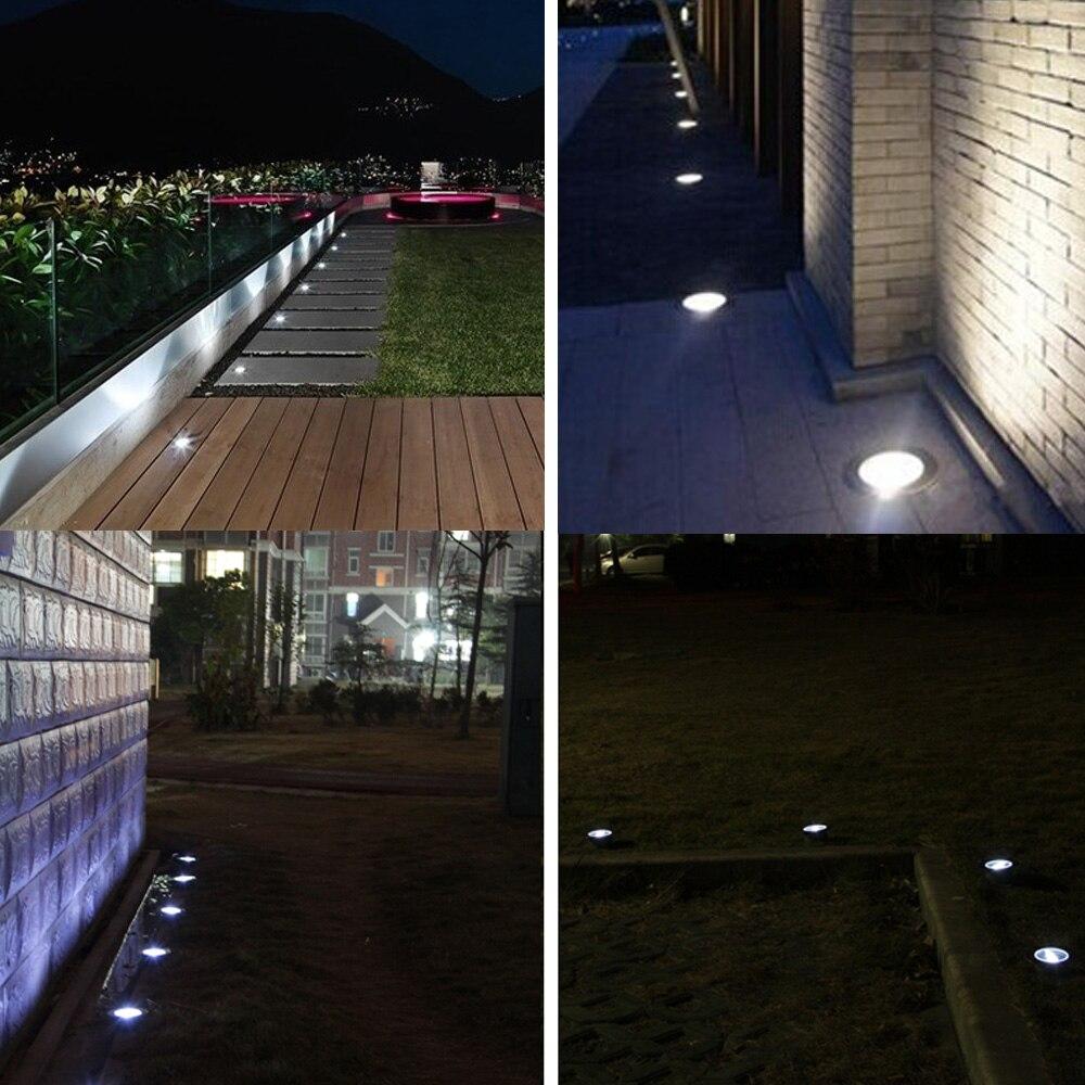 10 Uds. De luces LED para cubierta, 6W, 500LM, SMD2835, foco para paisaje de exterior, jardin, Patio, camino, suelos, escaleras enlarge