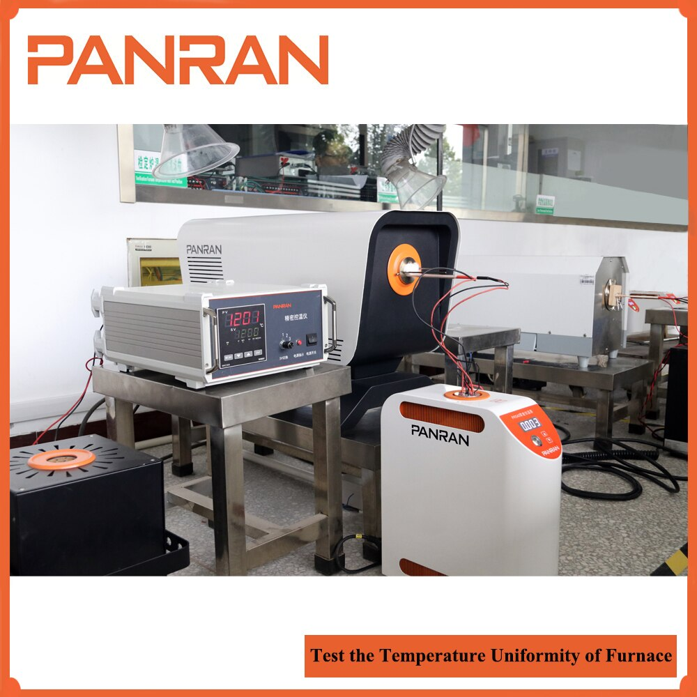 Open-ended Tube Furnace with a Temperature Range of 300 to 1200C Horizontal design thermocouple calibrator enlarge