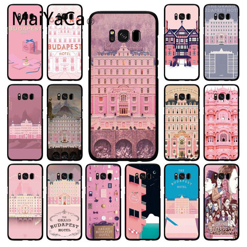 Maiyaca Wes Grand Budapest Hotel Phone Case  for Samsung Galaxy S20 S20 S10Plus S20 S10E S6 S7 S8 S9 Plus S20 S10lite