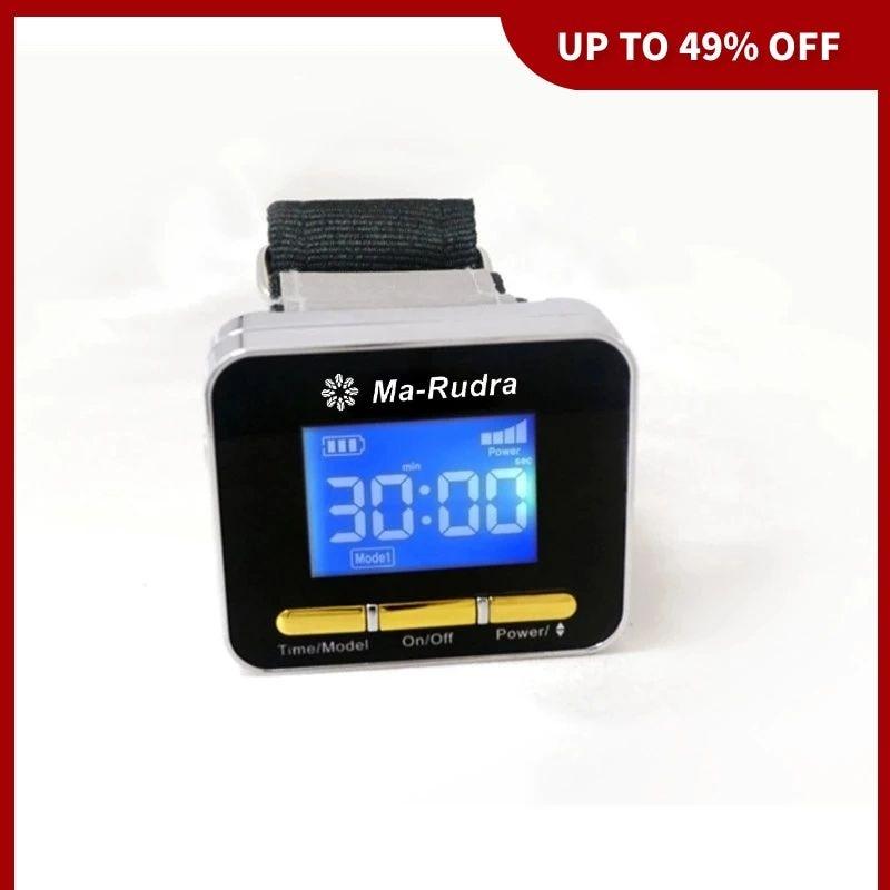 High Blood Pressure Laser Watch 2021 Diabetes Stroke Therapy Cold Laser Wrist Diabetic Watch Rhinitis Hyperlipidemia
