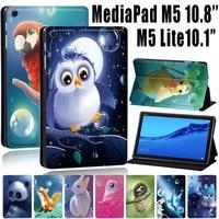 dust proof cover case for huawei mediapad m5 lite 10 1 tabletmediapad m5 10 8m5 lite 8 tablet cute animal series tablet case