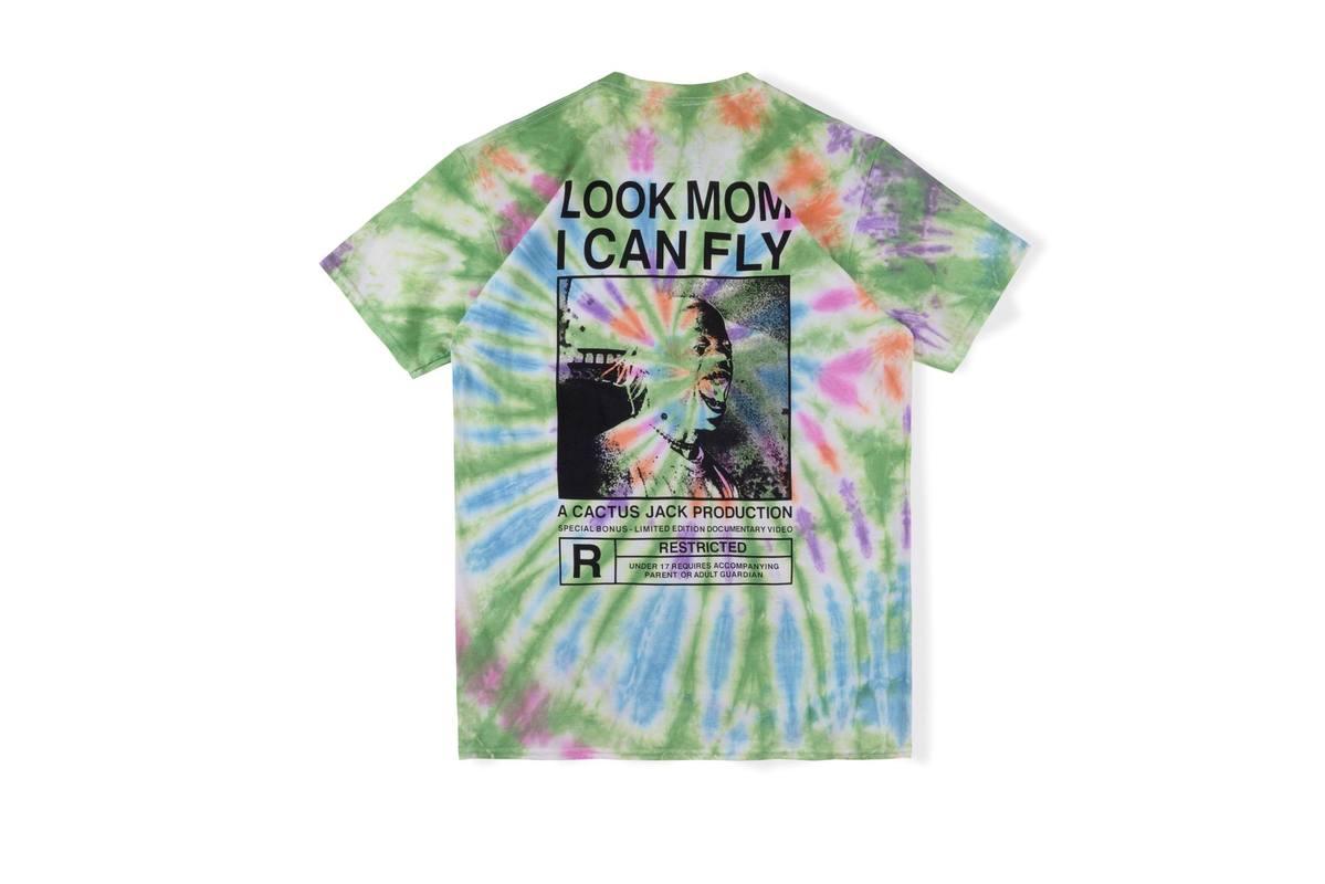 20SS Travis Scott Astrodome camiseta tour mira moom puedo volar Astrodome top camisetas hombres mujeres Harajuku Hip Hop Astrodome camiseta