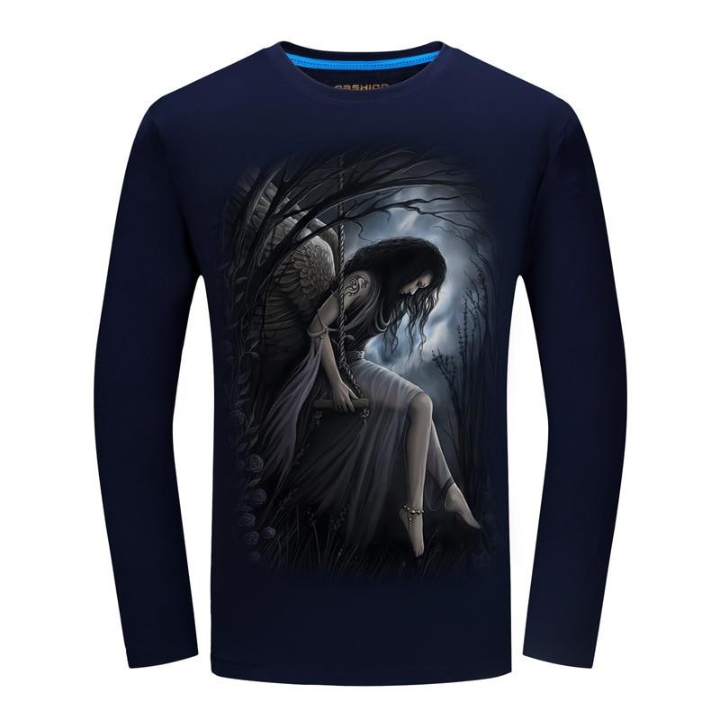 SWENEARO Men's T-Shirts Summer Short Sleeve t shirt men Simple creative design line cross Print cotton Brand shirts Men Top Tees