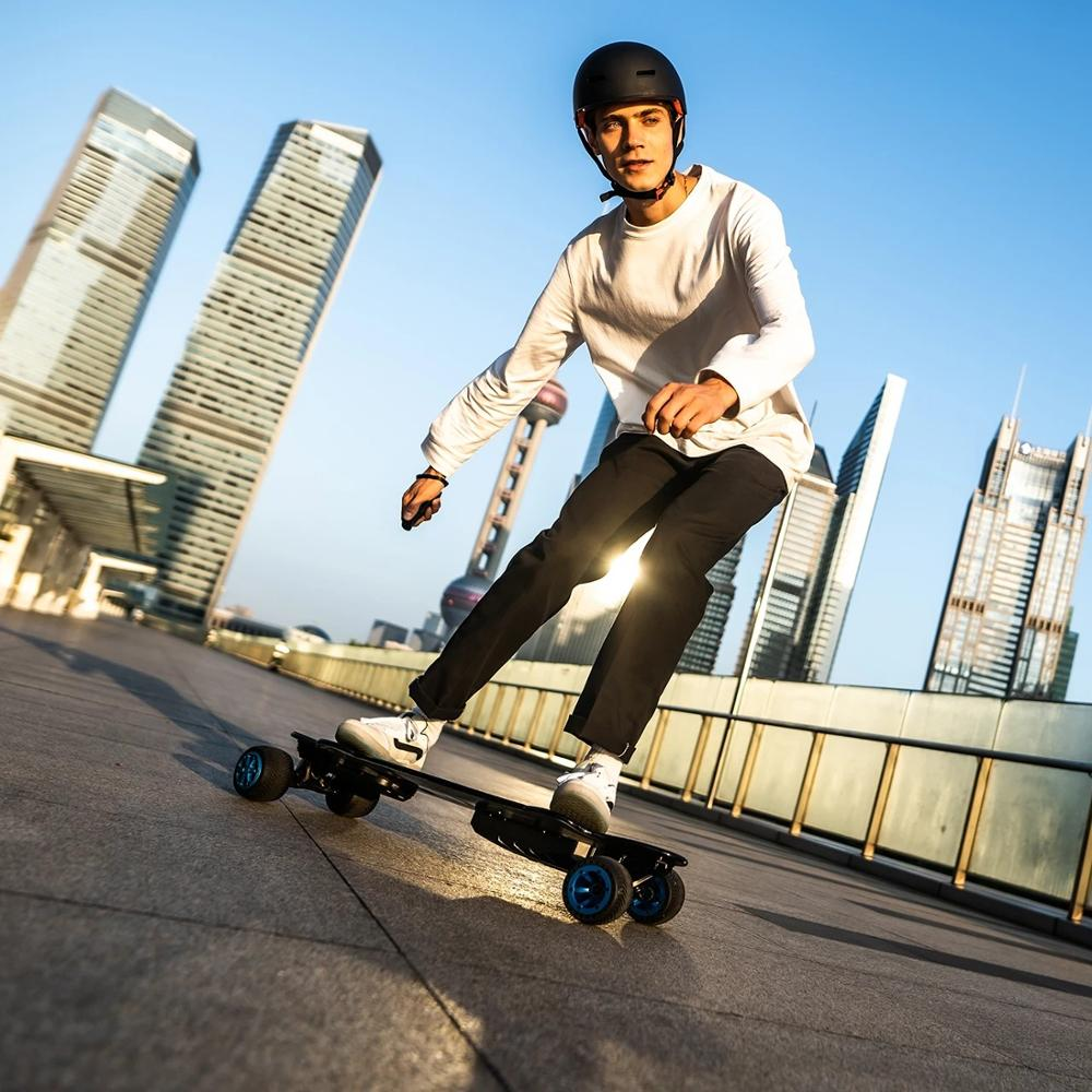 Electric Skateboard Urban flatbed scooter Remote Longboard Adult Hoverboard for teamgee new H20T With Rubber Wheels