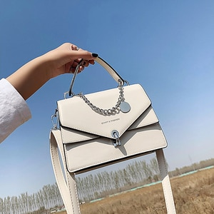 Small Square Bags For Women Luxury Messenger Bag 2021 Chain Girl's Handbag Casual Wild Lady Cross Body Shoulder Bag Female Black