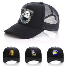Comics Thanos cosplay women men adjusted baseball snapback hat cotton Mesh funny Novelty cap
