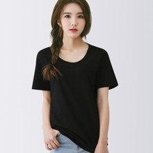 2020 Women  Short Sleeve black  Shirt Top Garment   lvory