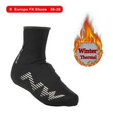 Winter Thermal Cycling Shoe Cover Sport Man's MTB Bike Shoes Covers Bicycle Overshoes Cubre Ciclismo
