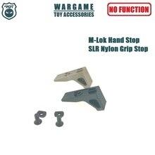 Nylon M-Lok Handguard Rail Hand Stop Grip Stop for Toy Gun Gel Blaster Airsoft AEG GBB