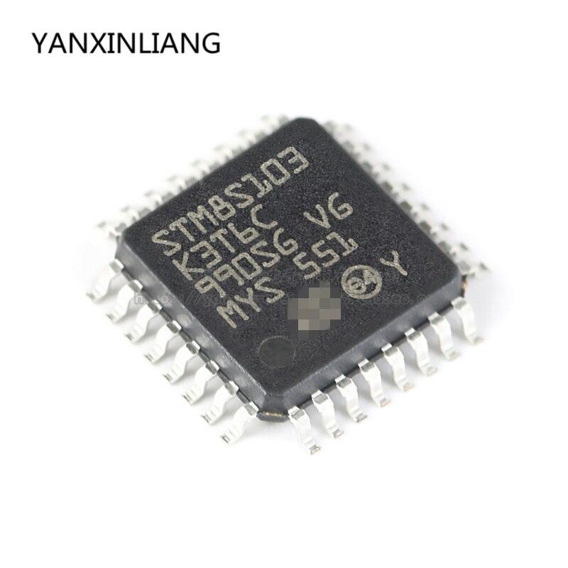 1pcs 100% New original STM8S103K3T6C LQFP-32 16MHz/8KB