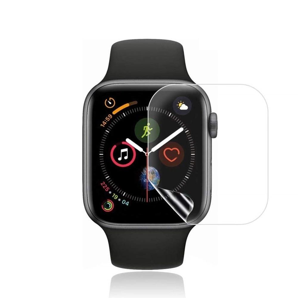 Защитная пленка для экрана, прозрачная зеркальная пленка для IWatch 4 5 6 SE 40 мм 44 мм для Apple Watch 3 2 1 38 мм 42 мм, не закаленное стекло