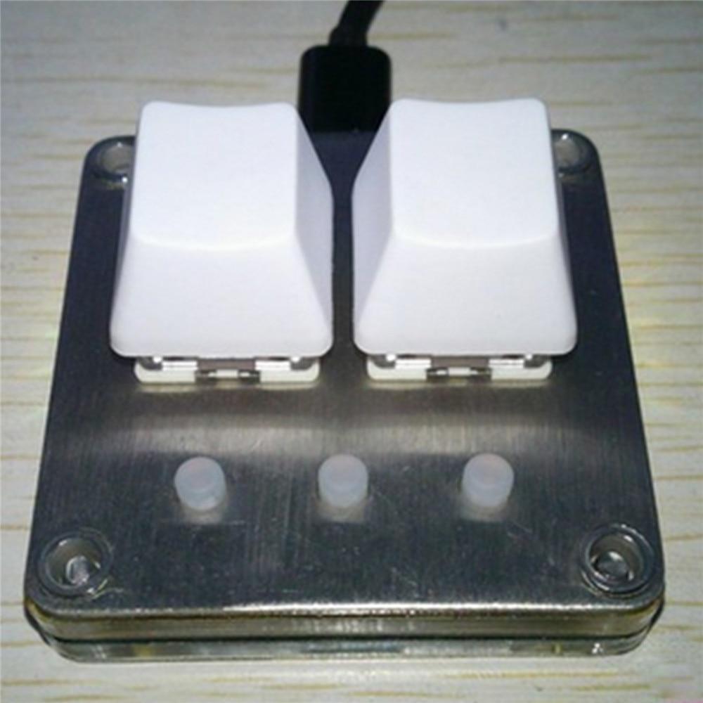 Mini teclado teclas programáveis teclado mecânico para sayobot o2c osu acessórios do teclado