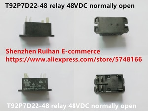 Original new 100% T92P7D22-48 relay 48VDC normally open