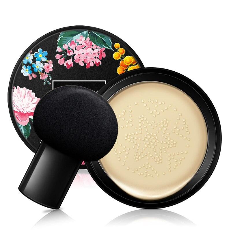 Cabeza de seta CC crema blanqueamiento corrector largo cosmético-duradero impermeable brillo cara Base tono BB aire cojín Base
