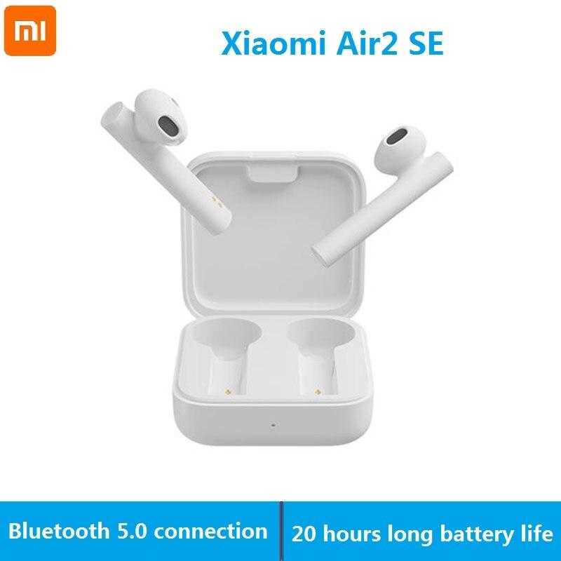 Verdadeiro sem Fio Fone de Ouvido Toque da Bateria Xiaomi Bluetooth ar 2 Fones 20 Horas Controle Air2 se Tws mi
