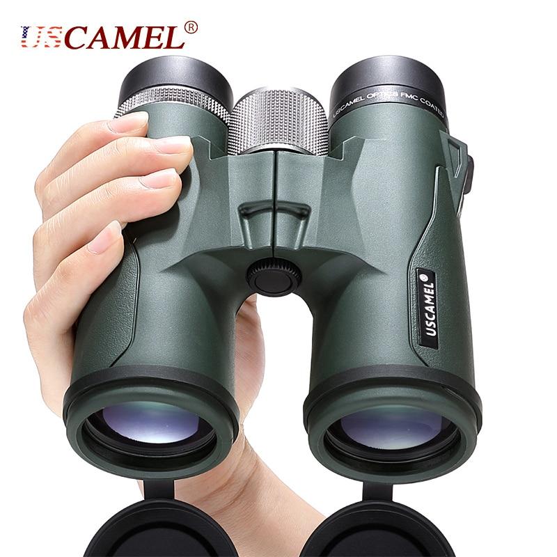USCAMEL 10x42 8x42 HD BAK4 Binoculars Military High Power Telescope Professional Hunting Outdoor Sports Bird Watching Camping