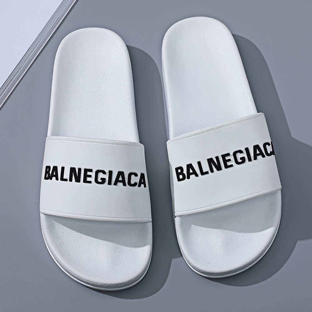 New Casual Indoor Slippers Summer Comfortable Outdoor Brand Designer Slippers Letters Beach Soft Lightweight Colorful Slides