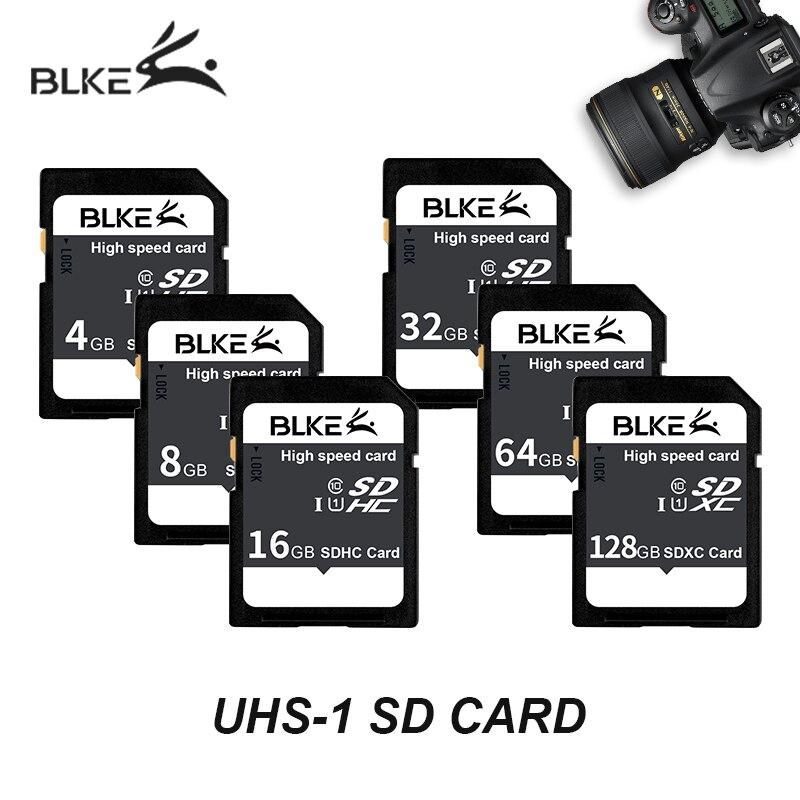 O ese tarjeta SD 128G 64GB 32GB 16GB 8GB 4GB de alta velocidad TARJETA DE Class10 UHS-1 pendrive para Canon Nikon Sony Panasonic Ricoh Cámara Fuji