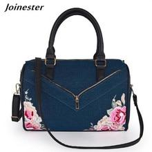 Denim Bags for Women  Shoulder Bag Casual Handbags and Purses Ladies Messenger Bags Retro Embroidery Woman Hand Clutch Bag