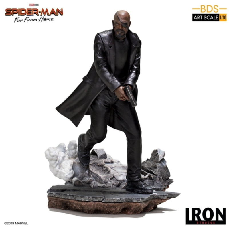 IRON STUDIOS Brazil Factory 1/10 Spider-Man Heroes Expedition Chief Nick Fury Spot
