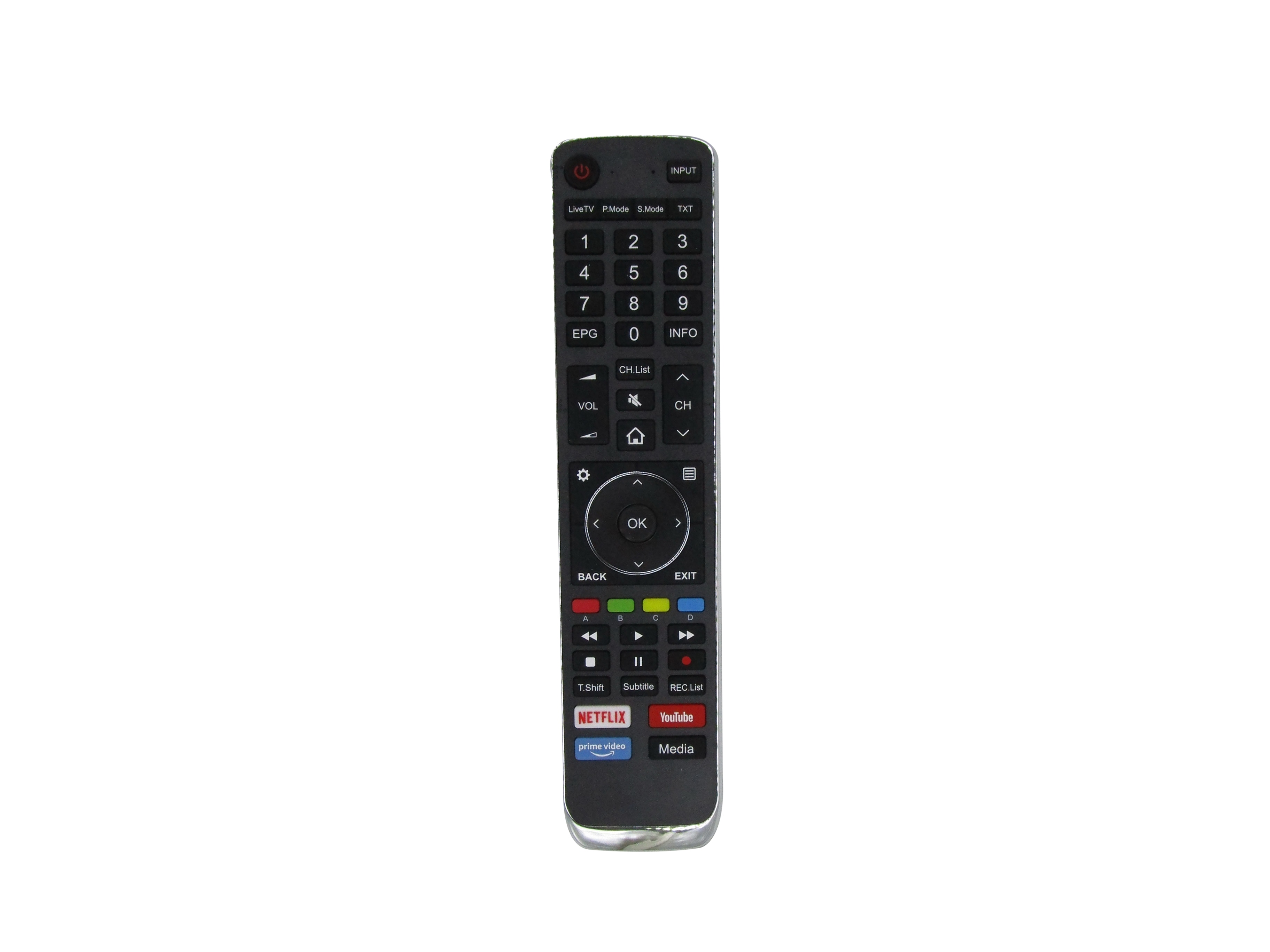 Controle remoto para hisense en3ag39h ultra hd hdr 4 k smart led lcd hdtv tv