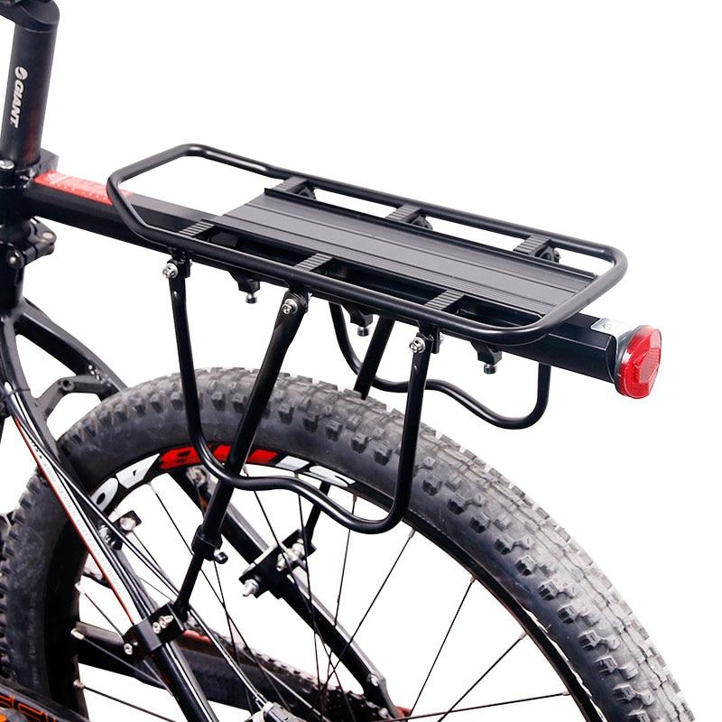 Deemount rowerowy bagażnik bagażnik tylny półka torba rowerowa stojak uchwyt Trunk Fit 20-29 Mtb i 4.0 gruby rower
